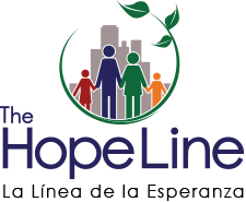 The HopeLine Logo